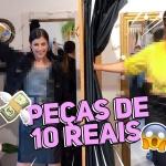 DESAFIO: comprinhas no brechó com até R$150,00