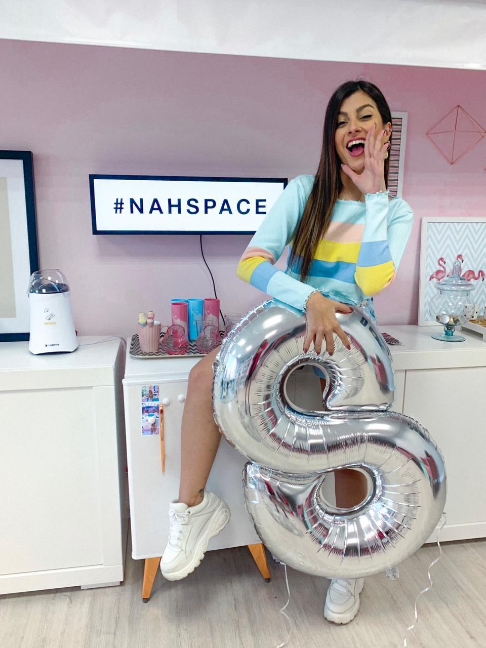Sorteio: Vem conhecer o Nah Space e passar um dia comigo!