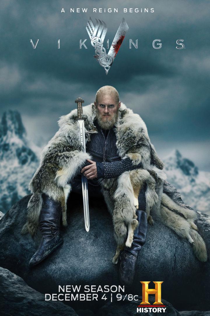 Veja o trailer da última temporada de Vikings