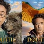 Robert Downey Jr. elenco divulgam cartazes do novo filme Dolittle!