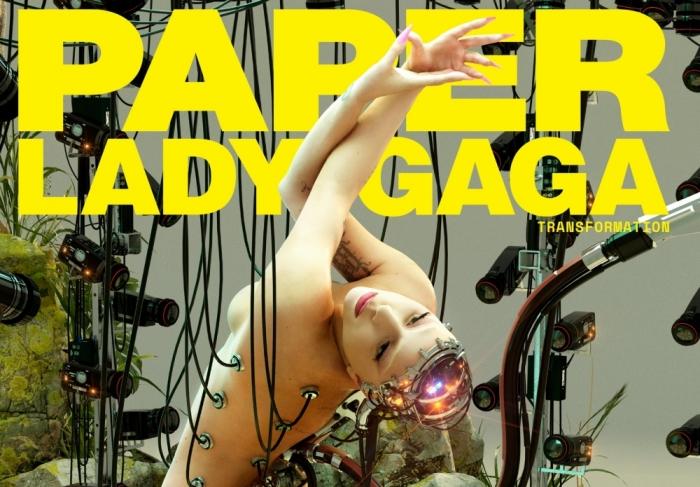 Após lançar Stupid Love, Lady Gaga é metade-humana e metade-robô em ensaio para a revista Paper