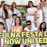 Festa do Now United, Noah cantando pagode, aprendendo coreografia e perguntas dos fãs
